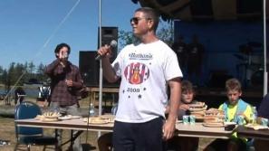 cam hot dog announcing