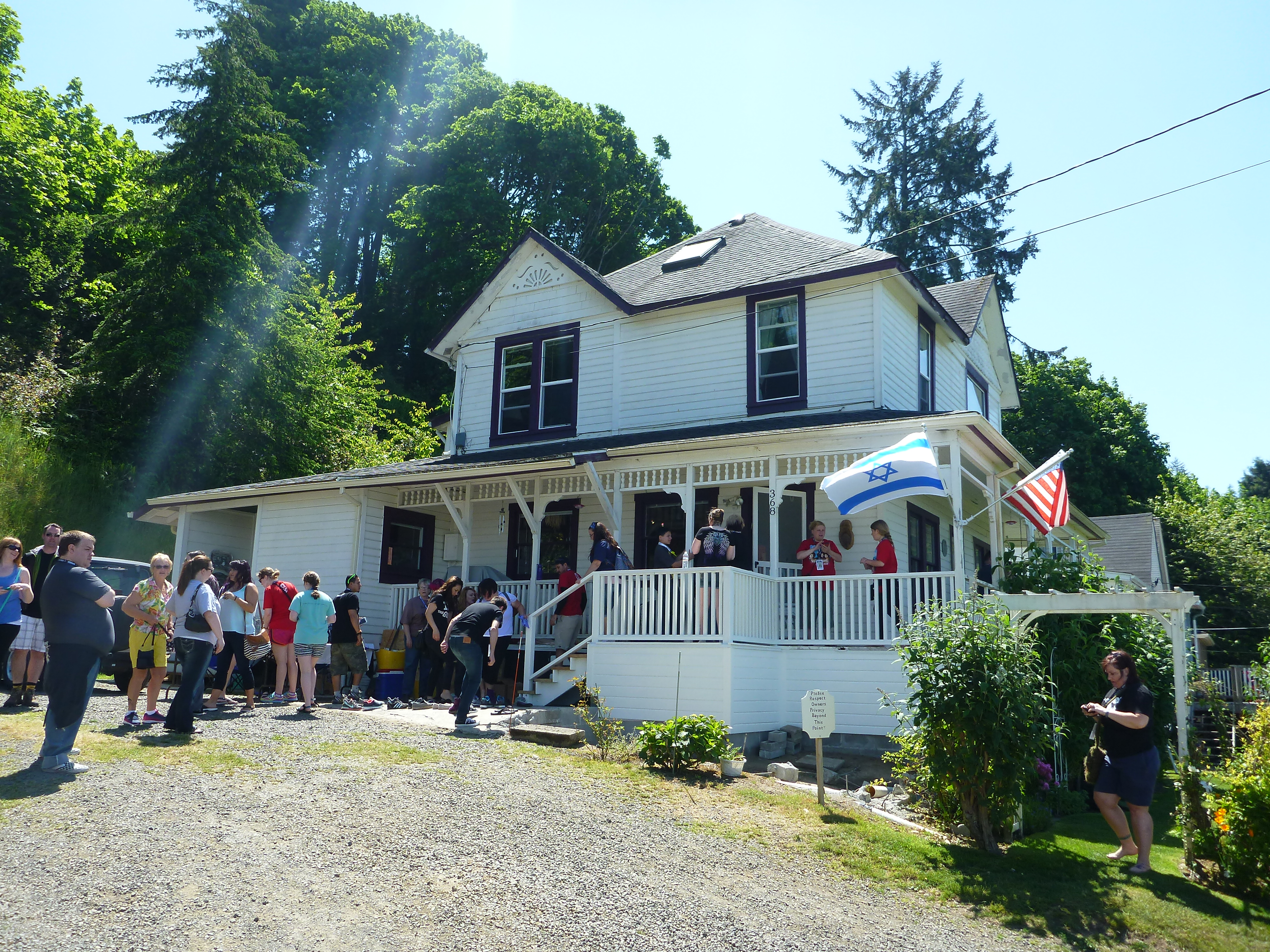Wpid Wp 1433595731999.jpeg. Cameron McKirdy Visits The Goonie House ...